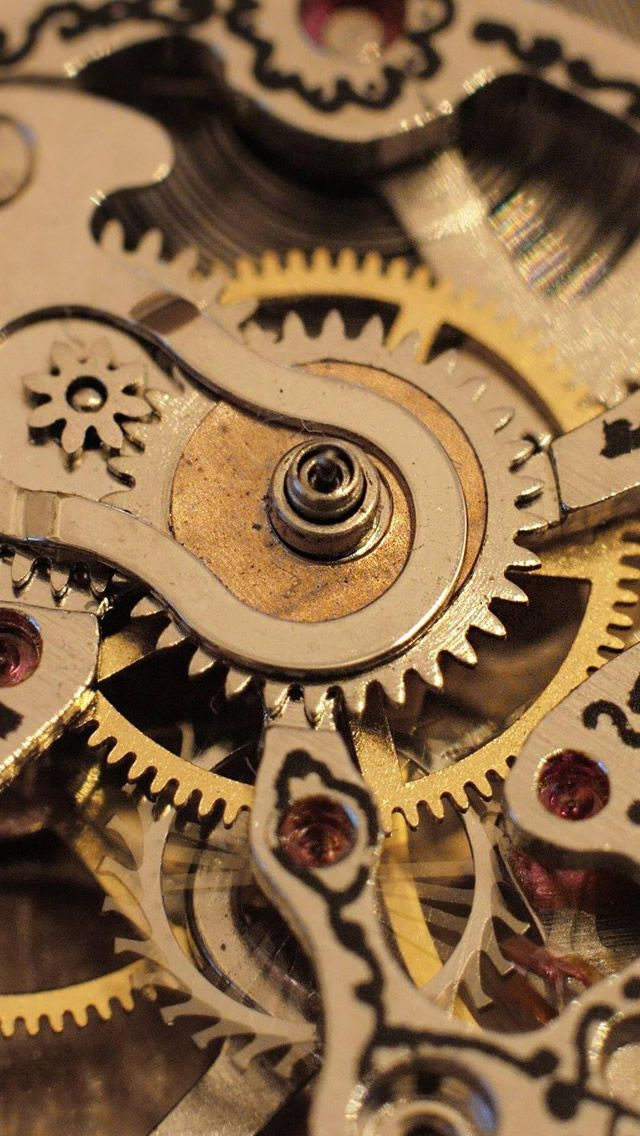 Watch Mechanism iPhone 5 Wallpaper - iLikeWallpaper is the ...
