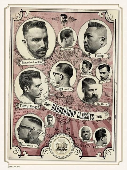 Rockabilly hair cuts for men!