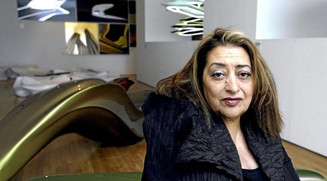 sosok seorang Zaha Hadid