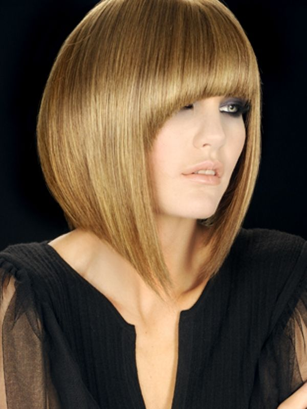 45-Degree Haircut. The 45-degree haircut is known as the wedge and has a triangular shape.