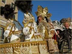 Carnaval de Venise - La Fête des Maries et le vol de l'Ange à Saint-Marc. www.e-venise.com
