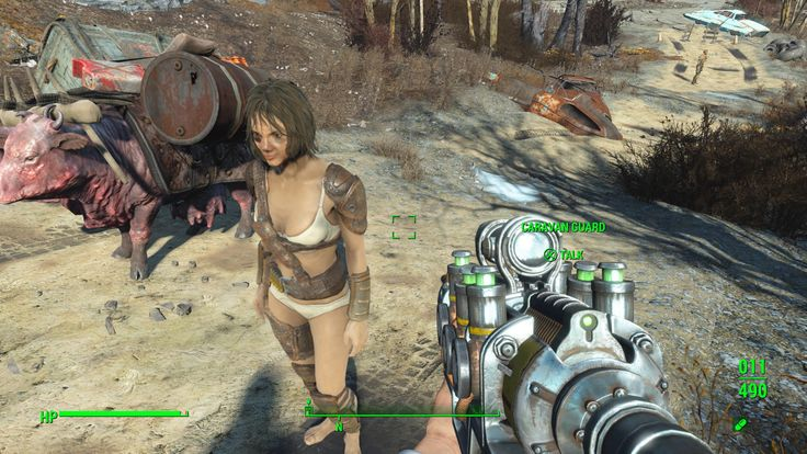 Cricket's Caravan Guard looks like she had a rough night. #Fallout4 #gaming #Fallout #Bethesda #games #PS4share #PS4 #FO4