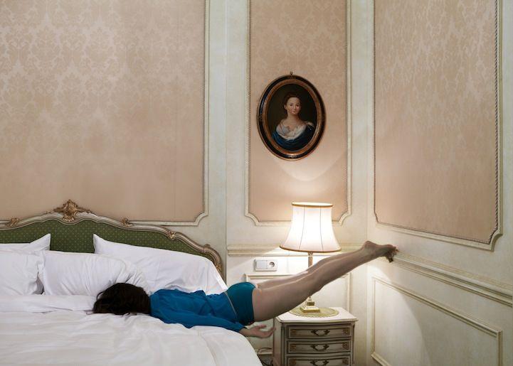 """Do Not Disturb"" Self-Portraits by Anja Niemi - My Modern Metropolis"