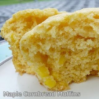 The Life & Loves of Grumpy's Honeybunch: Maple Cornbread Muffins
