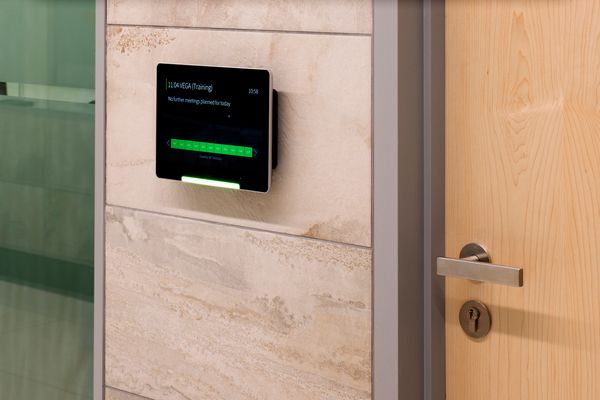 Digital meeting room booking systems can make meetings - and finding a room - much more efficient