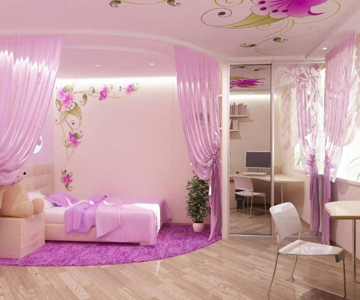 Pretty Space Fit For A Princess