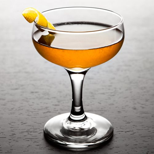 Monte Cassino: Two French liqueurs (Yellow Chartreuse and Bénédictine) plus American rye and lemon juice equals one fine drink order.
