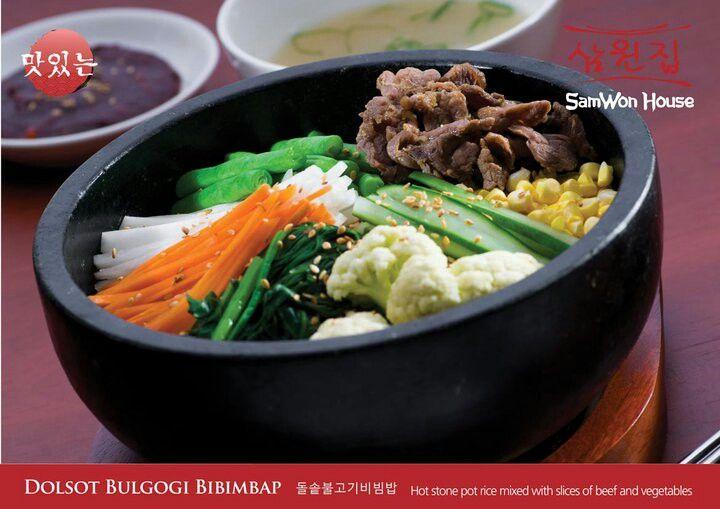 No. 1 Korean Bibimbap In Town from SamWon House