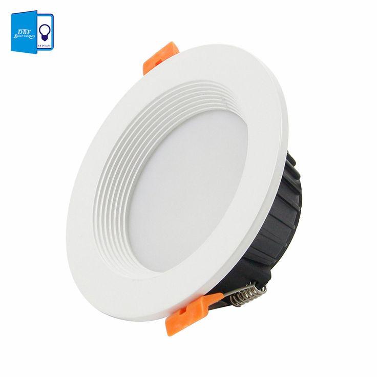 [DBF]Dimmable 7W 10W 12W LED Panel Down Light High Power LED Downlight LED Recessed Ceiling Light Spotlight AC110V/220V+Driver #Affiliate