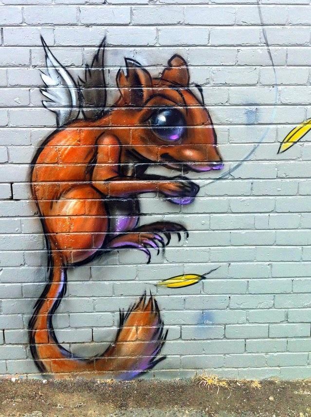 Street Art Graffiti - Fitzroy, Melbourne