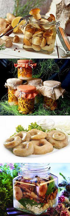 Маринованные грибы – самые простые рецепты / Простые рецепты