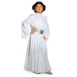 Star Wars Princess Leia Costume for Kids White #Princess #Halloween #Costume