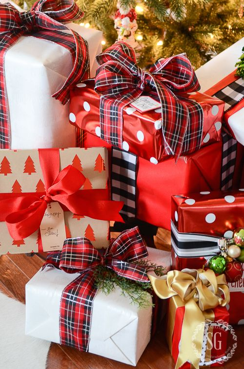 226 pinterest 10 very best christmas gift wrapping tips negle Image collections