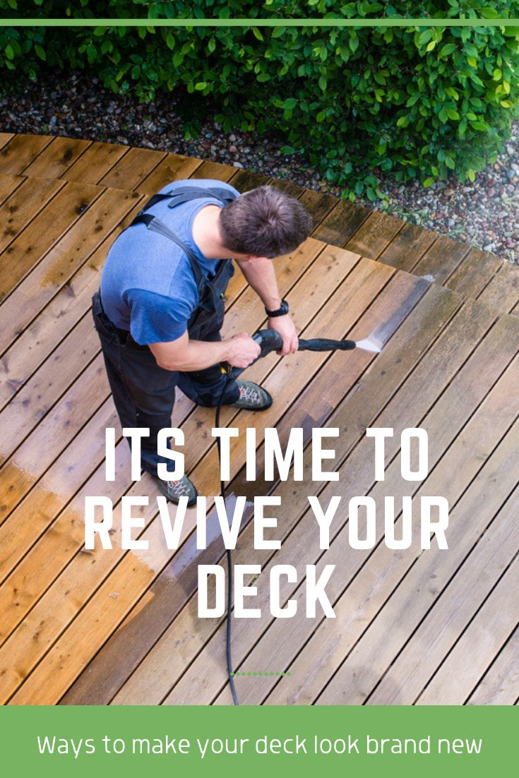 Need Some Tips To Revive An Old, Worn-out Deck? Here Are