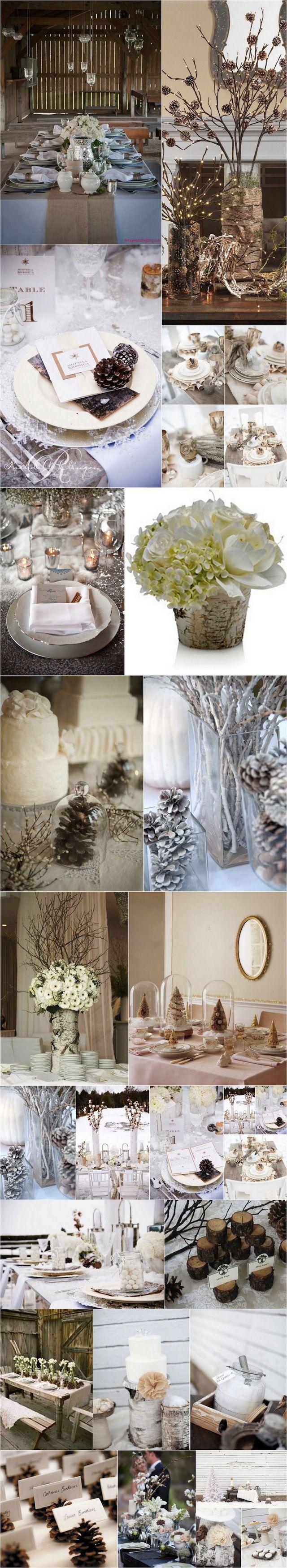 Les féeries d'un mariage en hiver