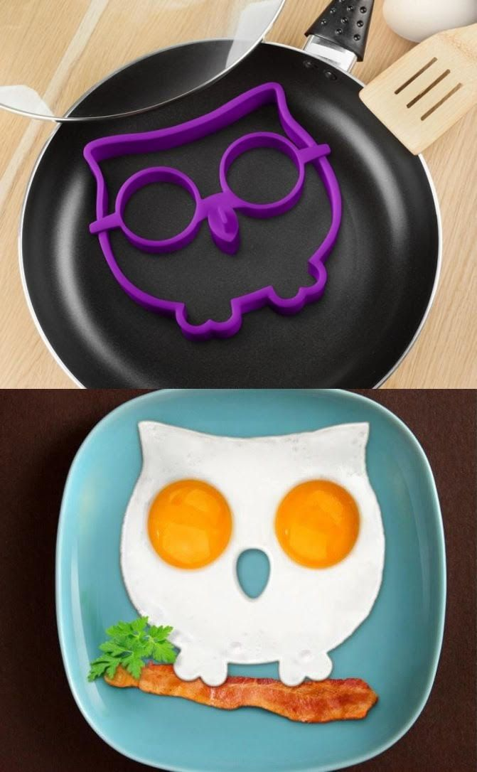 Owl Shape Silicone Egg Frying Mould. Owmmmm