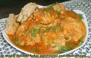 W Mojej Kuchni Lubię..: ryżowo-koperkowo-pieprzne mielone w pomidorach...