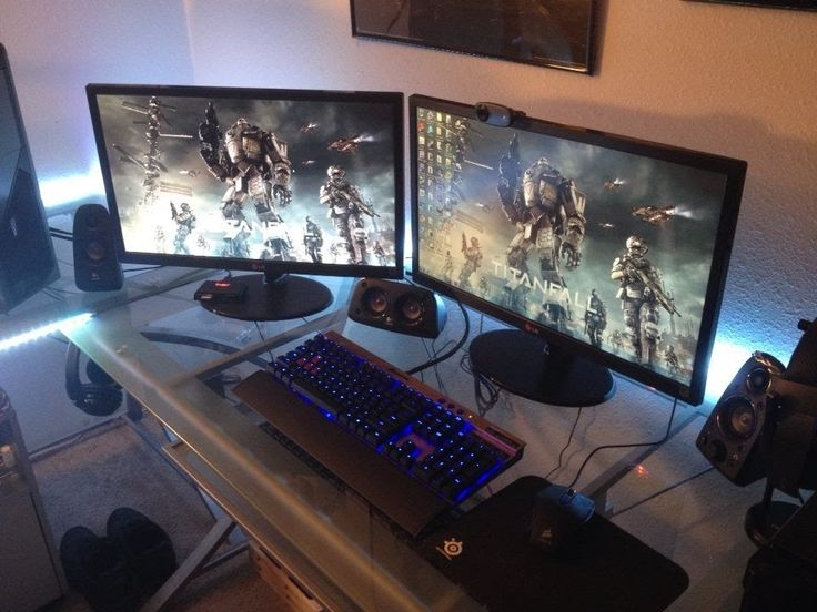 gaming setup room tour may 2014 battlestations pinterest gaming setup link and room tour. Black Bedroom Furniture Sets. Home Design Ideas