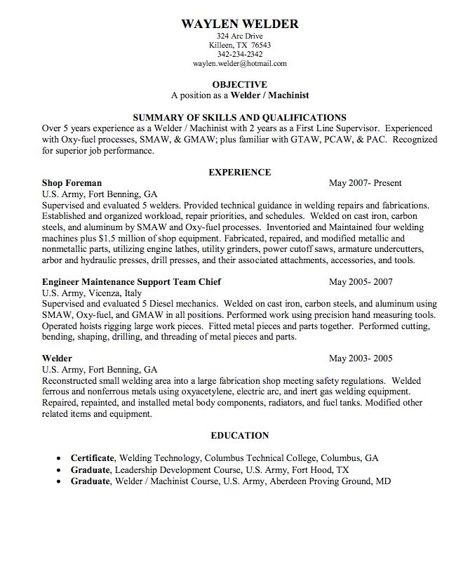 Free Sample Resume For Electronics Technician: 925 Best Example Resume CV Images On Pinterest