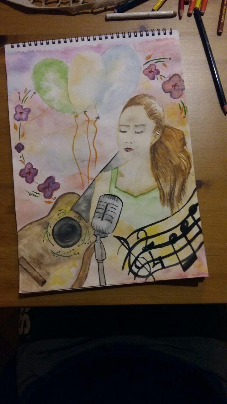 watercolor suluboya