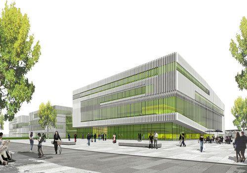 Hochschulcampus Nord_Neubau der Fachhochschule Bielefeld