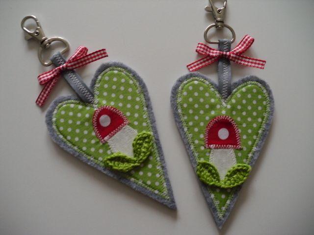 Schlüsselanhänger+~♥~Glück-bring~♥~+von+♥+Freitagskinder+♥+auf+DaWanda.com