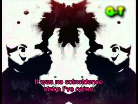 'Crazy' by Gnarls Barkley. A unique music video that uses amazing colour with an ever changing rorschach design showing the band members. Very cool.