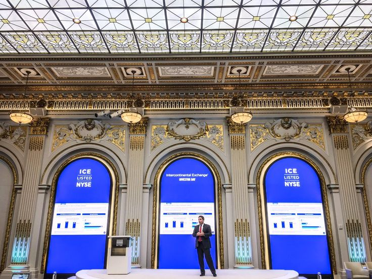 ICE investor day at the NYSE