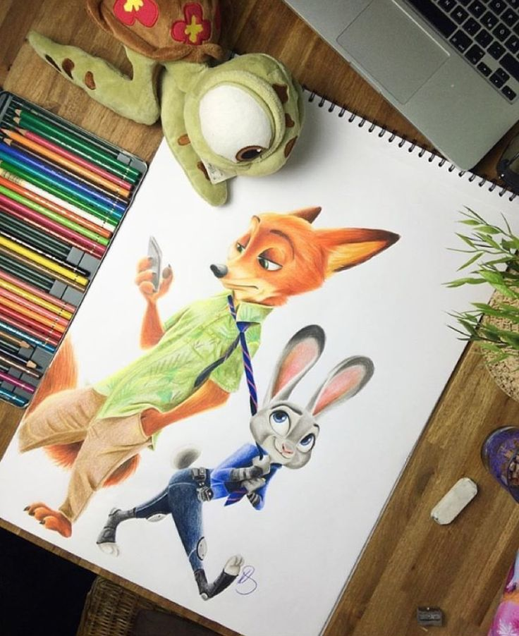 Zootopia drawing