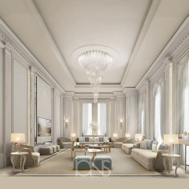 Interior Designing Idea For Beautiful Living Room Ions Design Archinect Sitting Room Design Classical Interior Design Interior Design
