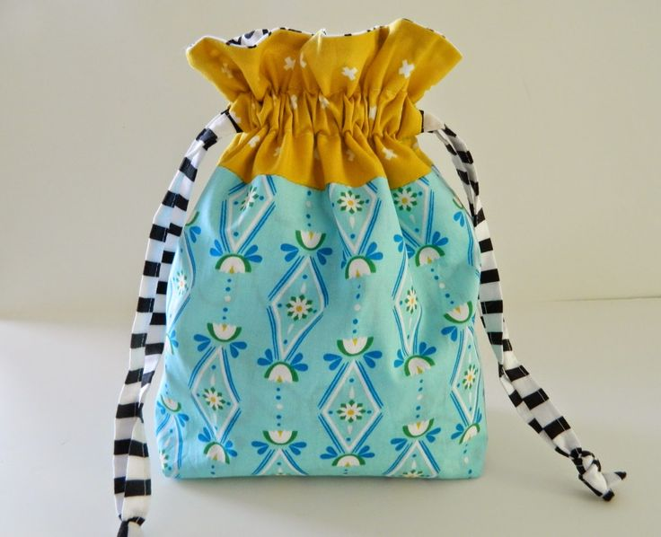 82 best images about Drawstring bags & pouches on Pinterest