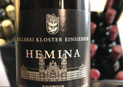 """Via Jacobi : Le Chemin de St-Jacques de Compostelle en Suisse. """"Hemina, le vin de l'Abbaye de Einsiedeln"""""""