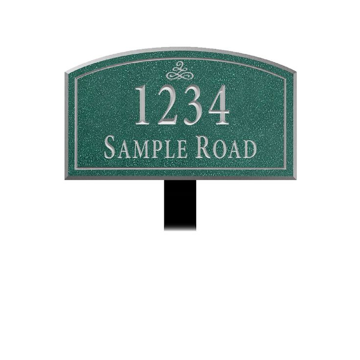 Salsbury Industries Signature Series Plaque Arched Medium Infinity Lawn Mounted  #home #mailbox #curbappeal #diy #realestate #homesweethome #mailboxes #hgtv #homeandgarden #landscaping