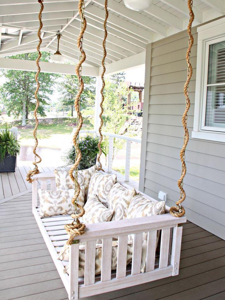 Garden Swing Design Ideas Gardens The Cottage And Backyards