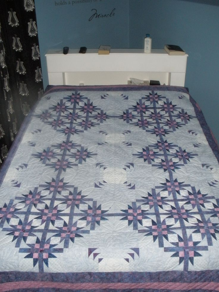 Finished Mexican Star Quilt