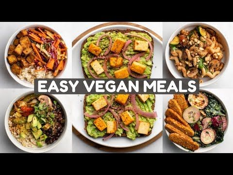 5 Meals I Eat Every Week Vegan Youtube Vegan Recipes Easy Meals Vegan Recipes