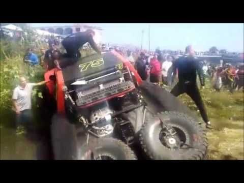 FATAL ACCIDENTE EN/FATAL ACCIDENT in  BAJA 500 2016 dejo 2 heridos