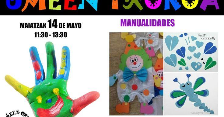 Retuerto acoge este domingo 14 de mayo el taller de manualidades infantiles del Erreka-Ortu