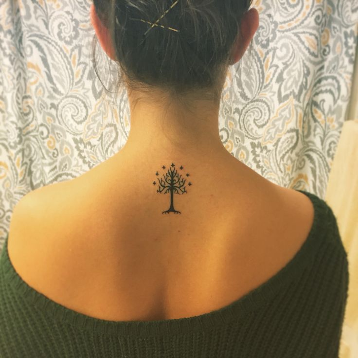 Tree of Gondor tattoo #tattoo #lotr #treeofgondor