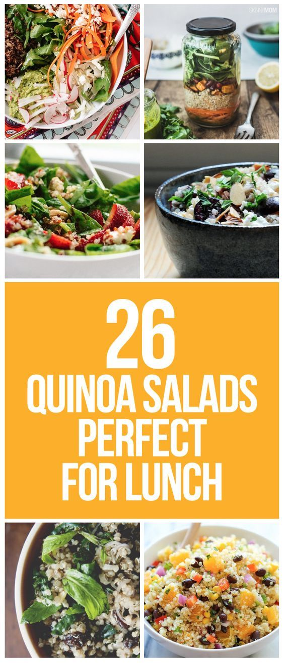 RECIPES: These quinoa salads will have you looking forward to lunch!