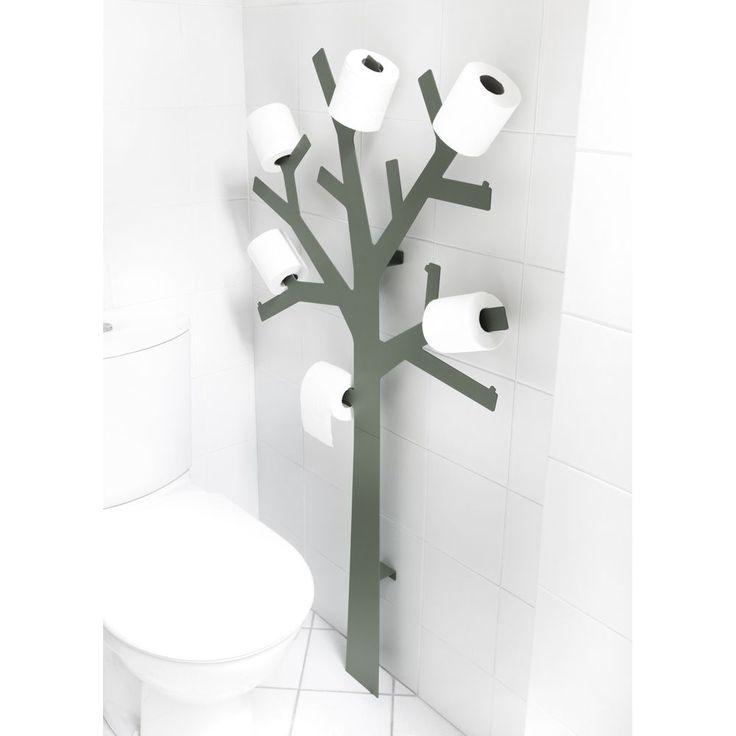 Waanzinnige wc ideeën - Pqtier toiletpapierboom