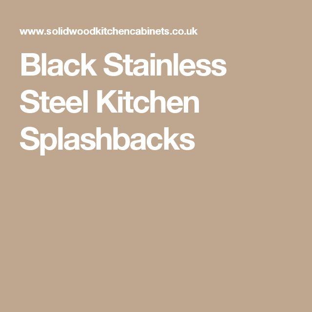 Die besten 25+ Stainless steel splashback Ideen auf Pinterest - warendorf k chen preise