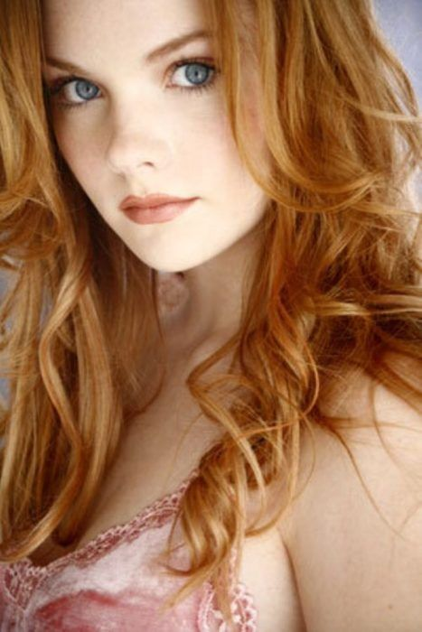 strawberry blonde   I tried to find out who this is, but have had no luck! Anybody know? I like to use names  *sidenote: of my thousands and thousands of pins, this pic has been liked and re-pinned more than any other one! By a LOT! Crazy.