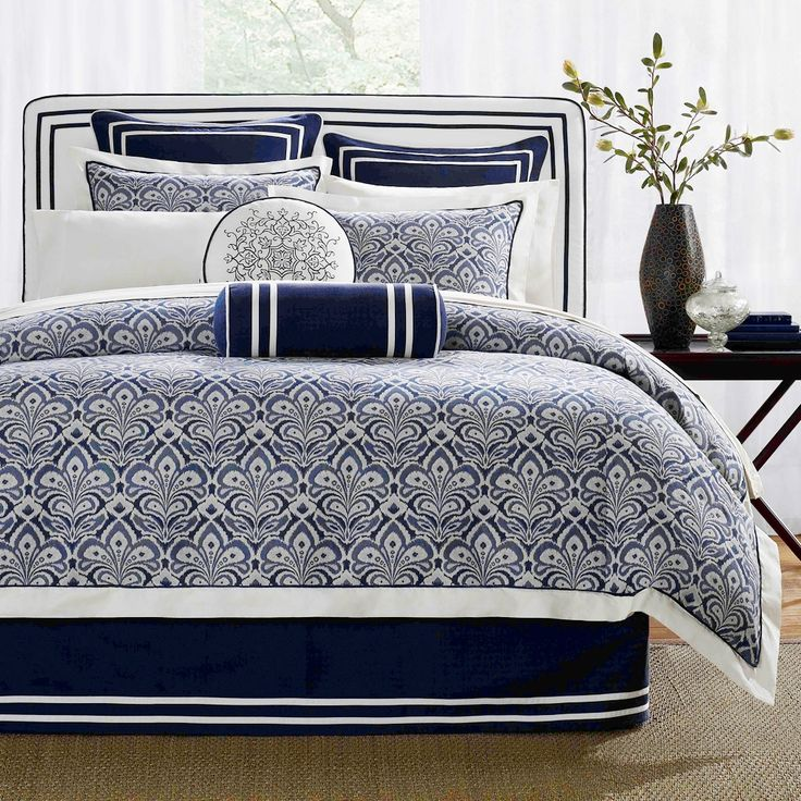 Navy And White Sheet Sets