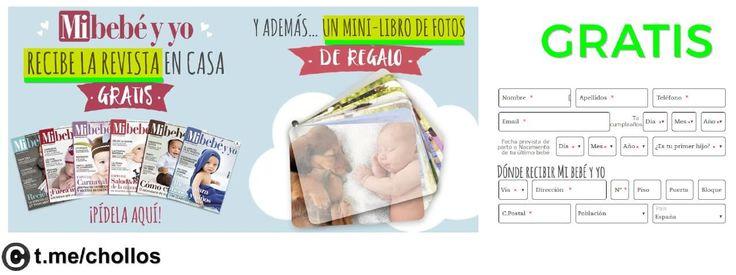 Rebista Mibebé  album de fotos GRATIS - http://ift.tt/2sGrFvR