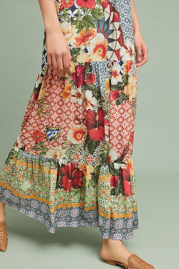 0e2706cc1ef4 Farm Rio Helja Maxi Dress | Clothes inspiration | Farm rio, Floral ...