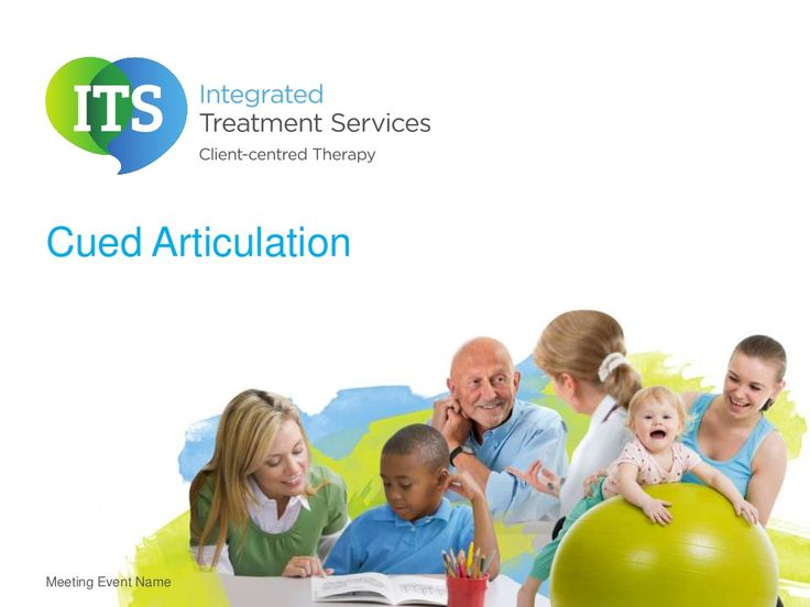 Cued articulation by Integrated Treatment Services via slideshare