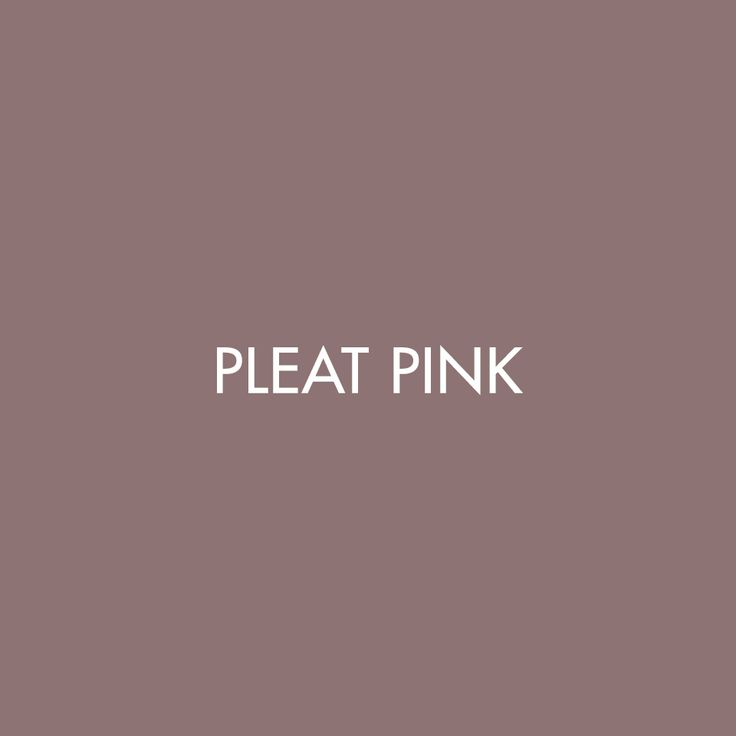 Pleat Pink, one of our beautiful hues for #SS18 for the Precision/Fluidity collection