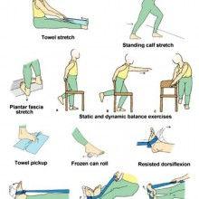Ejercicios de fortalecimiento para la musculatura del tobillo