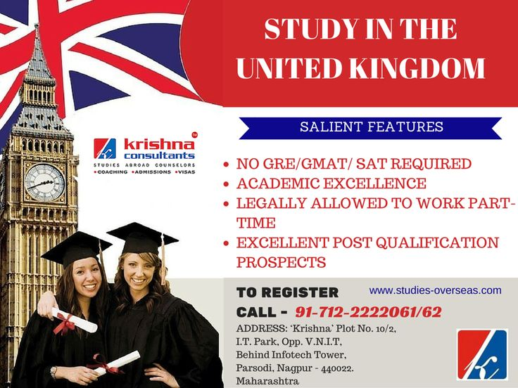 View universities and courses in #UK. Find out about admissions, fees, visa requirements and other details. #studyabroad